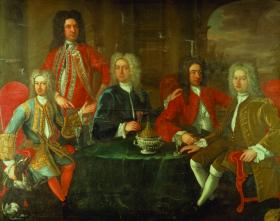'The Hellfire Club, Dublin' portrait in the National Gallery of Ireland