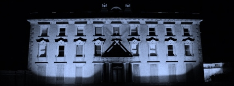 Loftus Hall at night