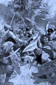 Lugh in battle