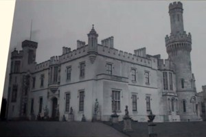 One of the only photographs of Ducketts Grove before the fire of 1933.