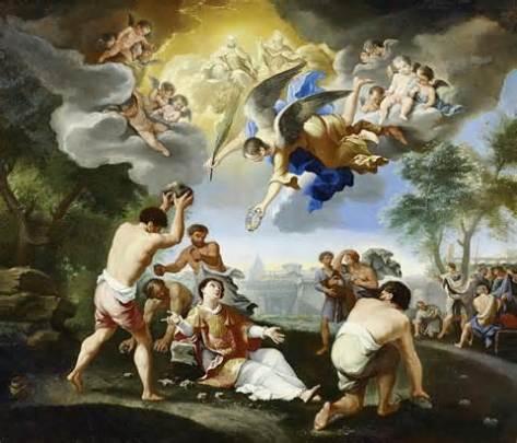 Stoning Saint Stephen